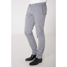 Chino Gris Clair Homme