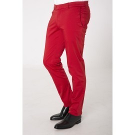 Chino rouge vif Homme