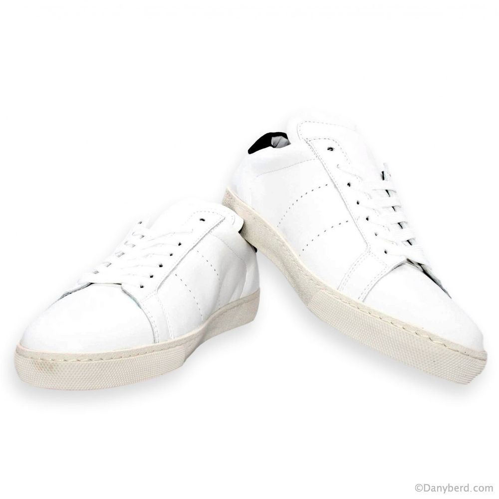 Sneakers Smith : Blanches - Cuir (Shoes)