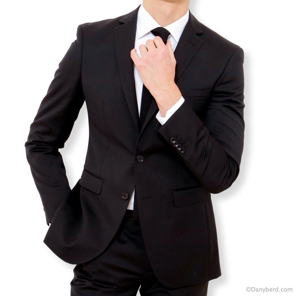 Black Suit and blue suit jacket - Mrs. Kathleen Colon.
