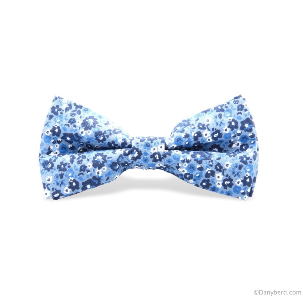 Nœud Papillon : Ciel - Motifs Bleus (Default)