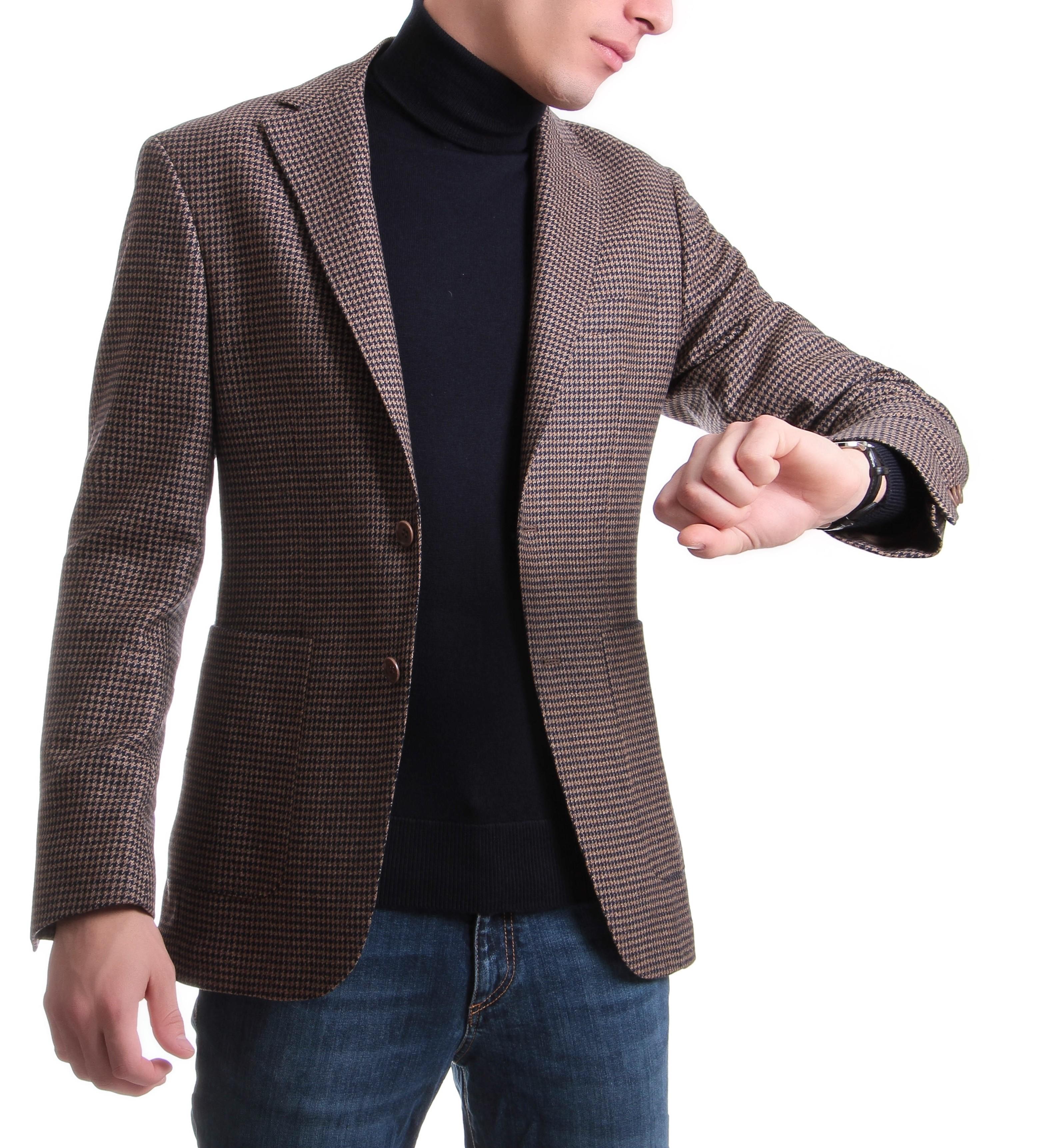 Slack Jacket E.Thomas Pied de Poule