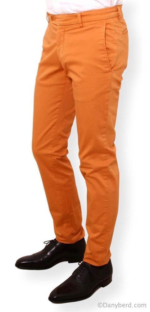 Chino : Orange - Toile summer
