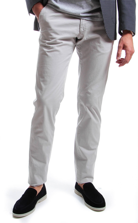 Chino : Mastic - Toile summer (Pantalons)