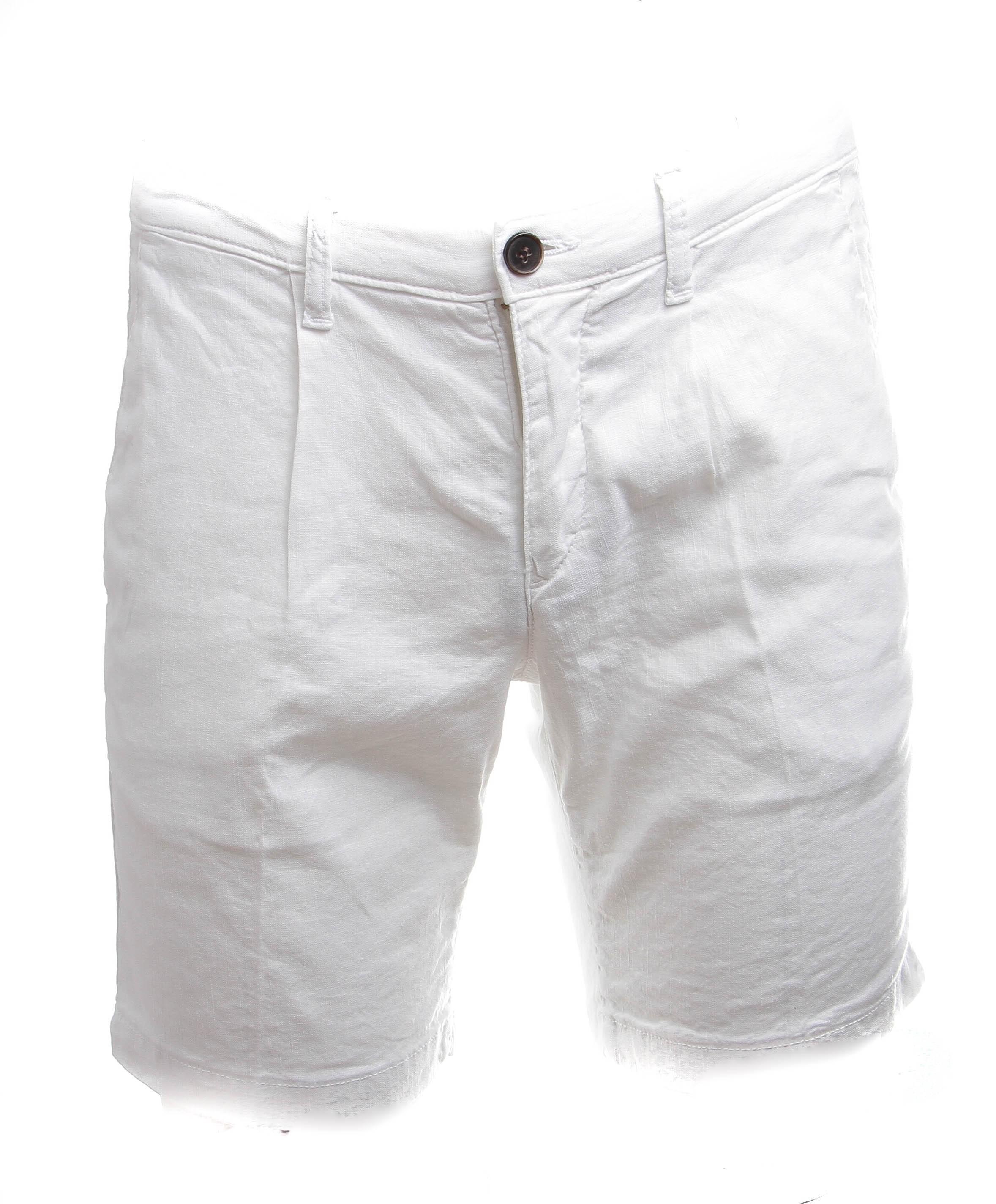 Short Blanc - Toile Summer (Bermudas)