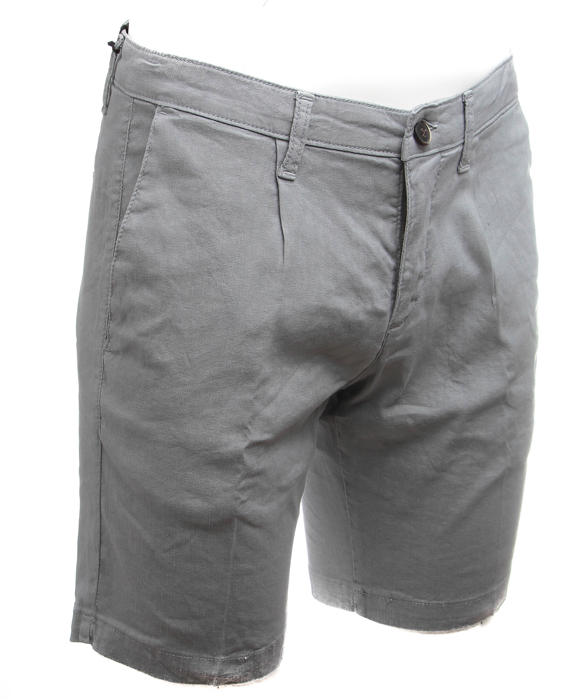 Short gris - Toile Summer (Bermudas)