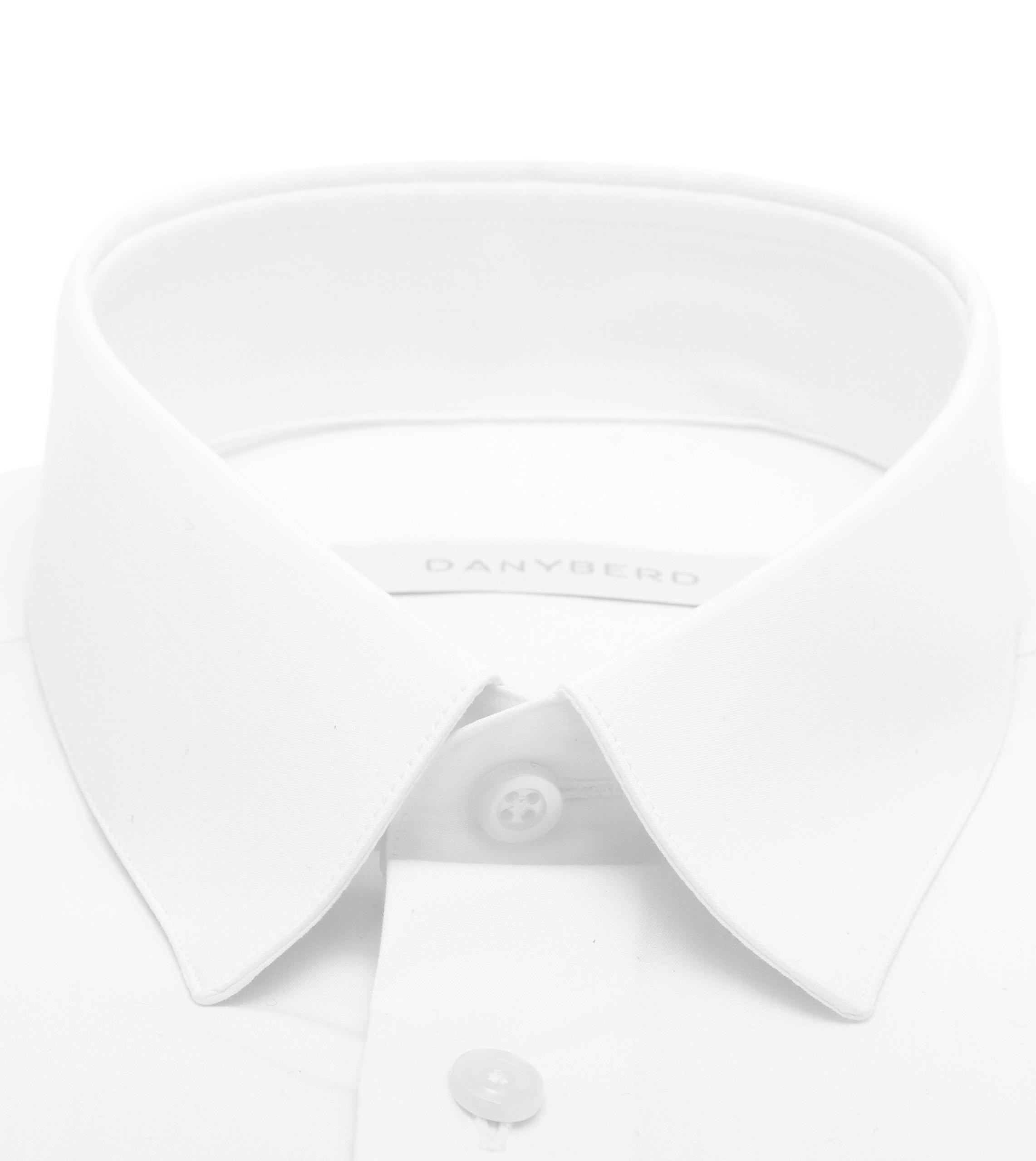 chemise petit col blanche homme CONFORT