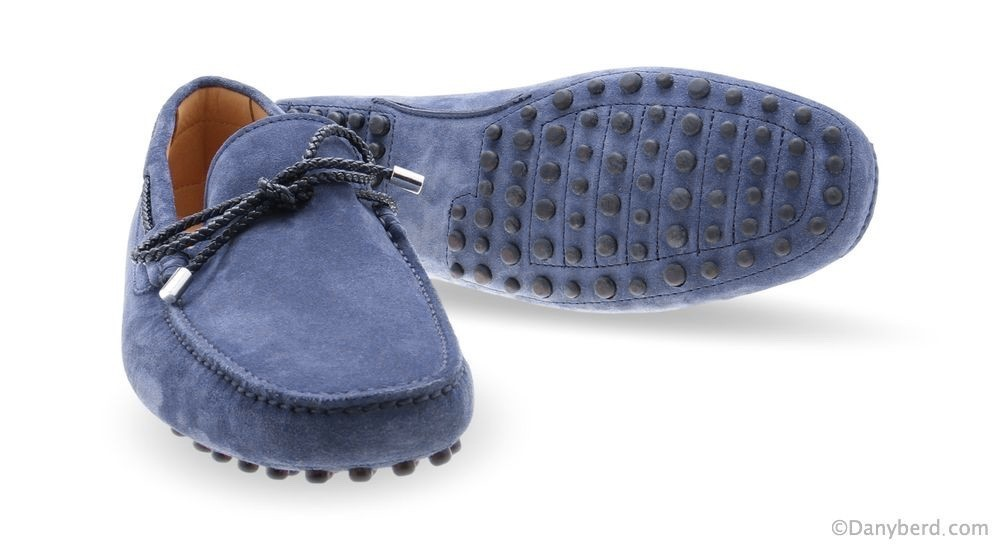 Mocassins Indaco - Veau Velours (Shoes)