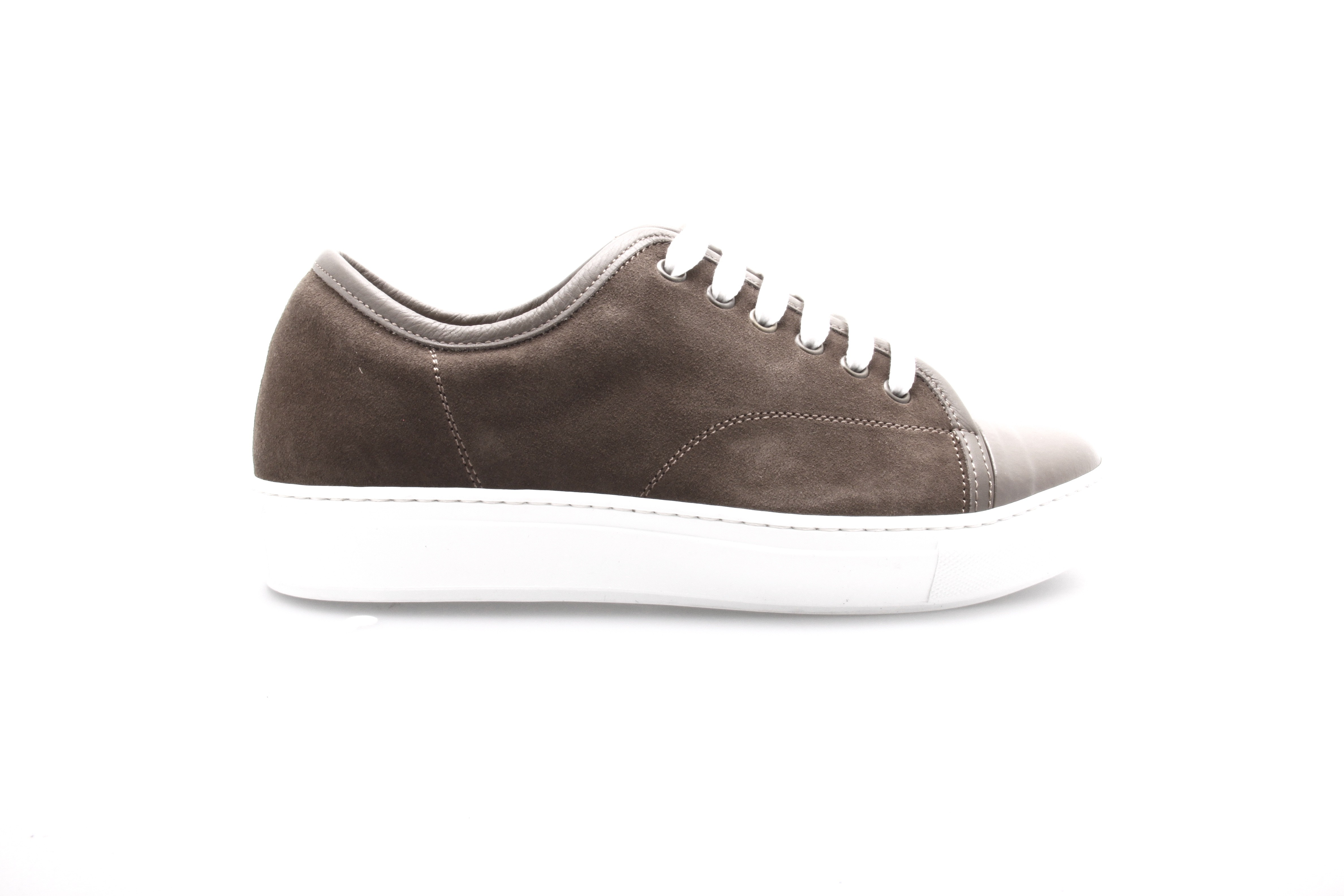 Sneakers Paris : Noisette - Veau Velours (Shoes)