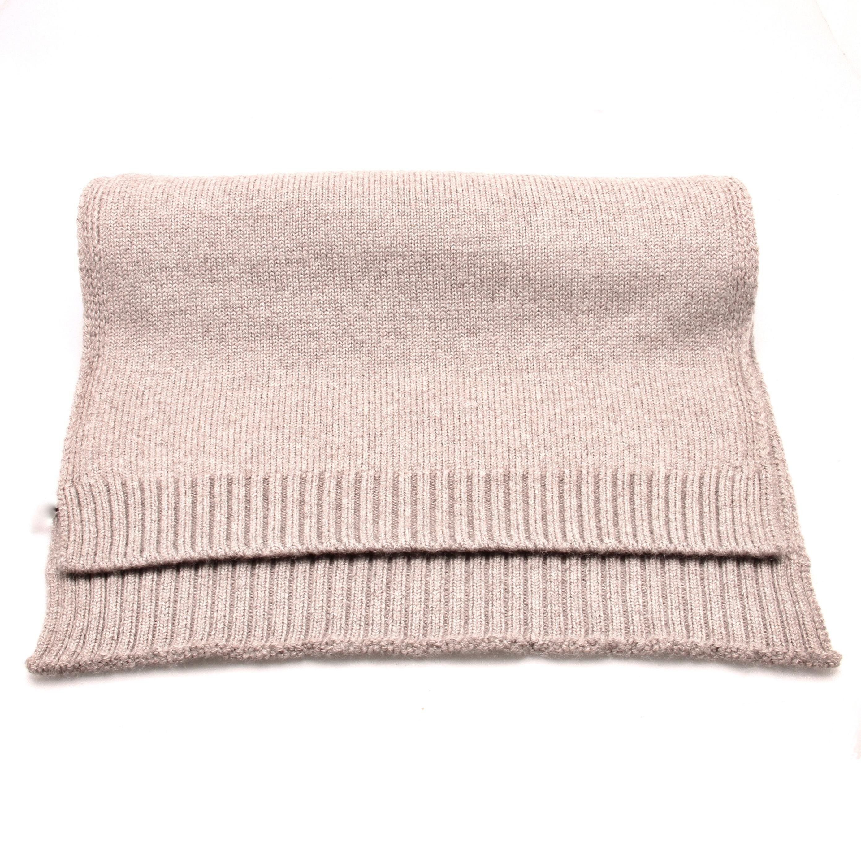 Echarpe Beige - Pure laine de Merinos