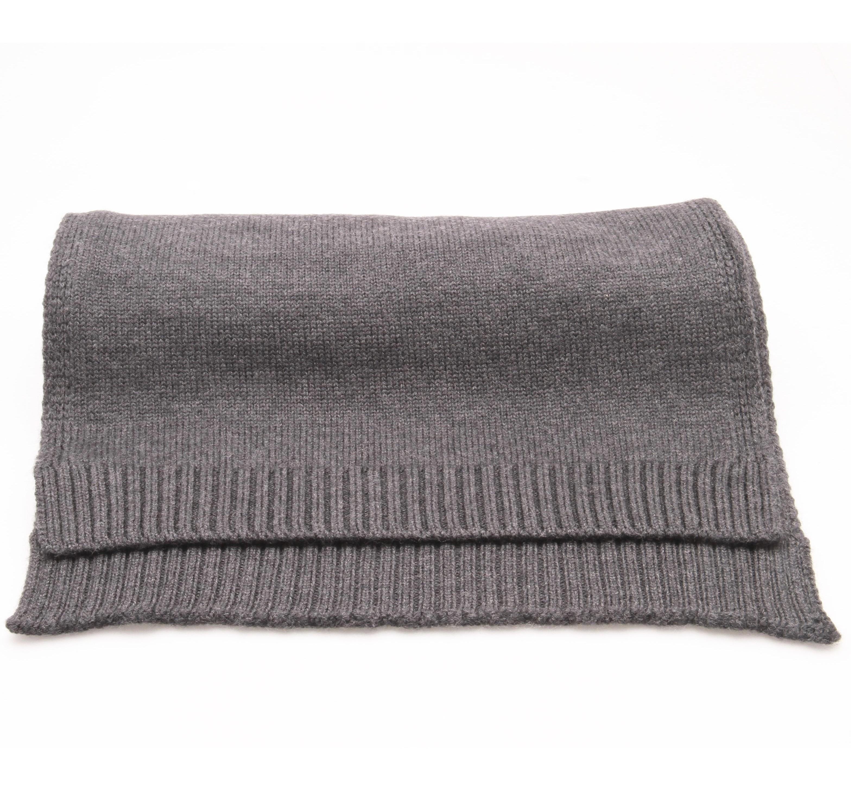 Echarpe Anthracite - Pure laine de Merinos