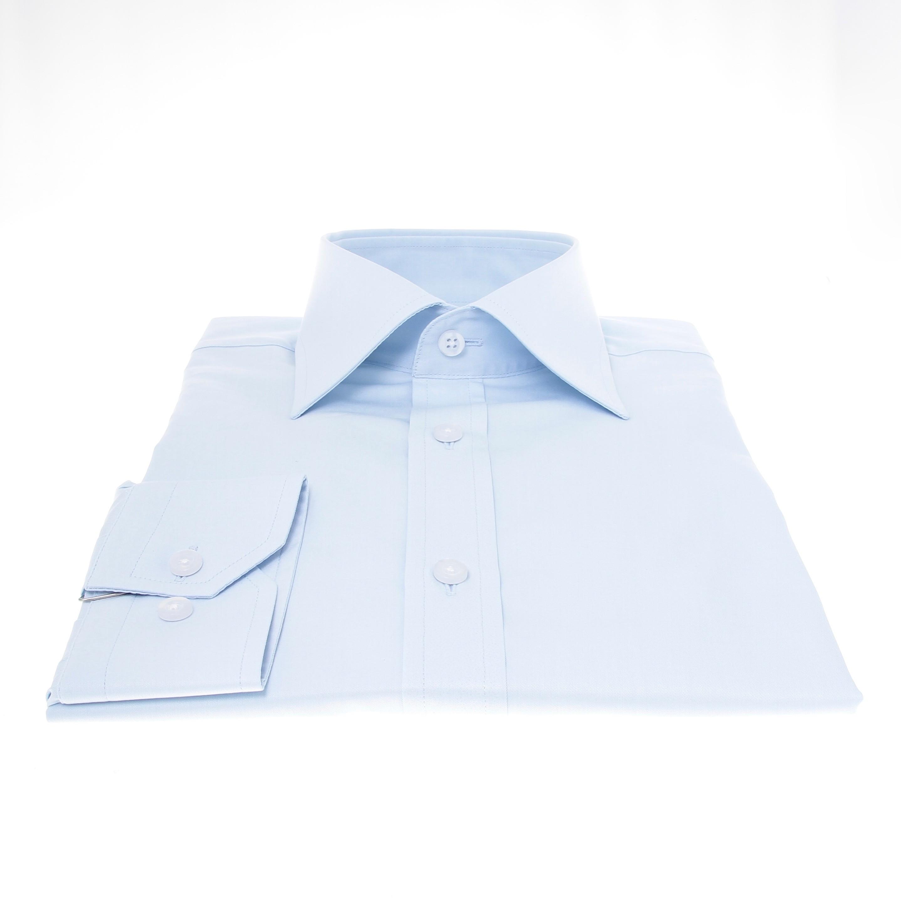 Chemise Lissandro : Bleu - Col français (Shirts)