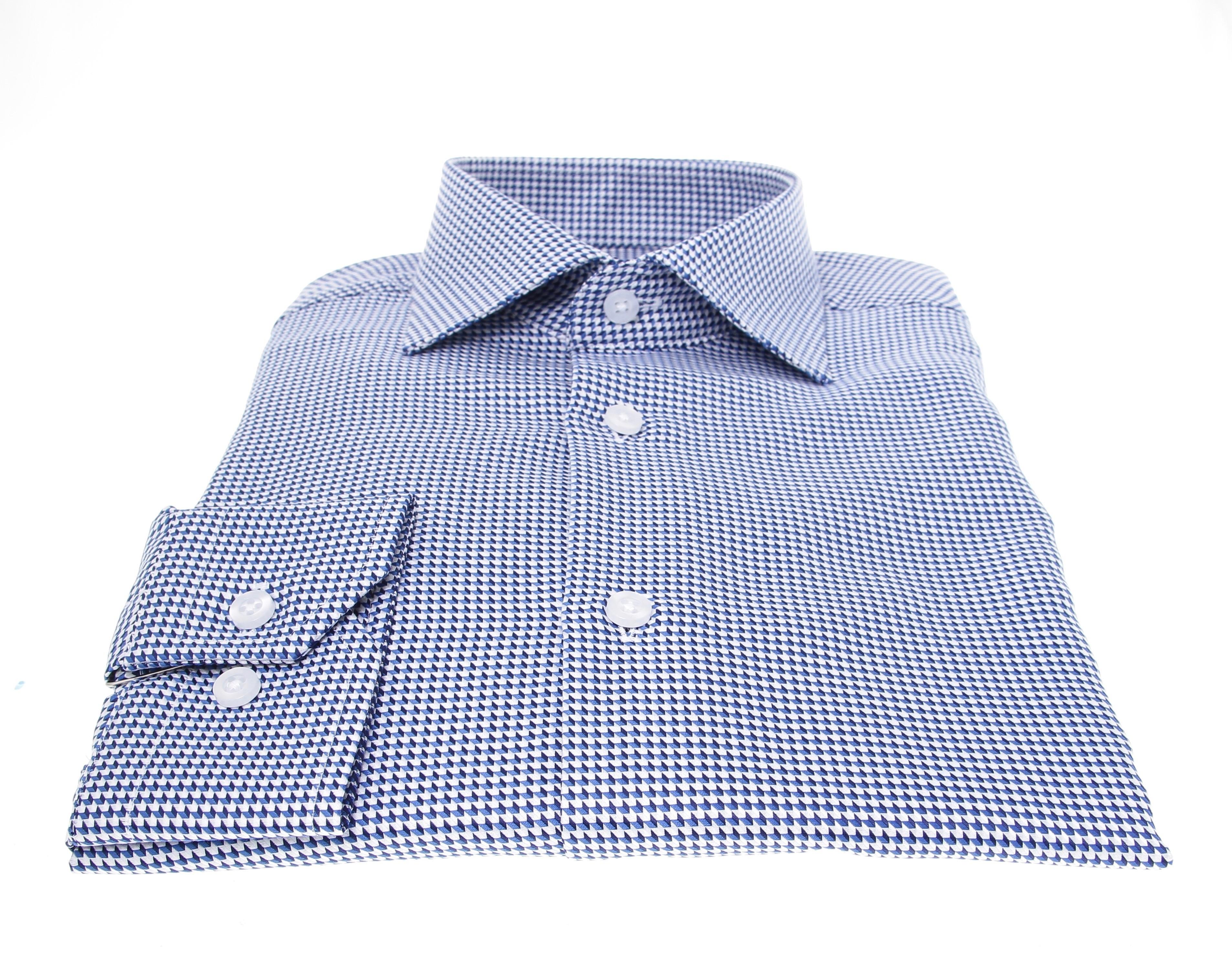 Chemise Westminster :  Motifs - Col Français (chemise)