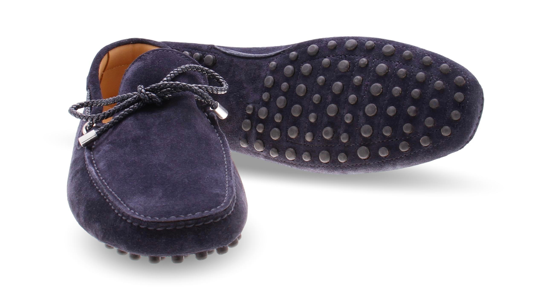 Mocassins Marine - Veau Velours (Shoes)