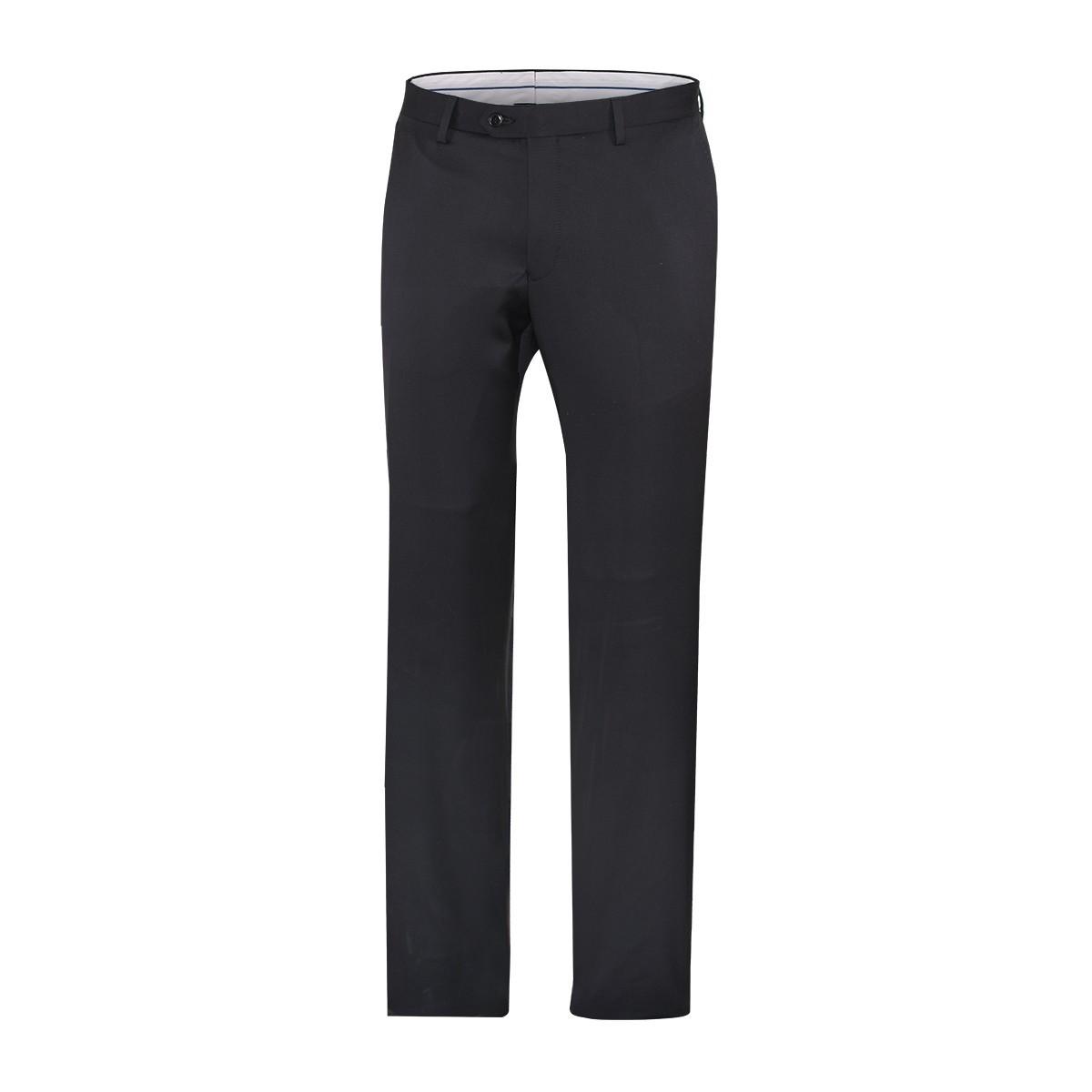 pantalon noir laine. Black Bedroom Furniture Sets. Home Design Ideas