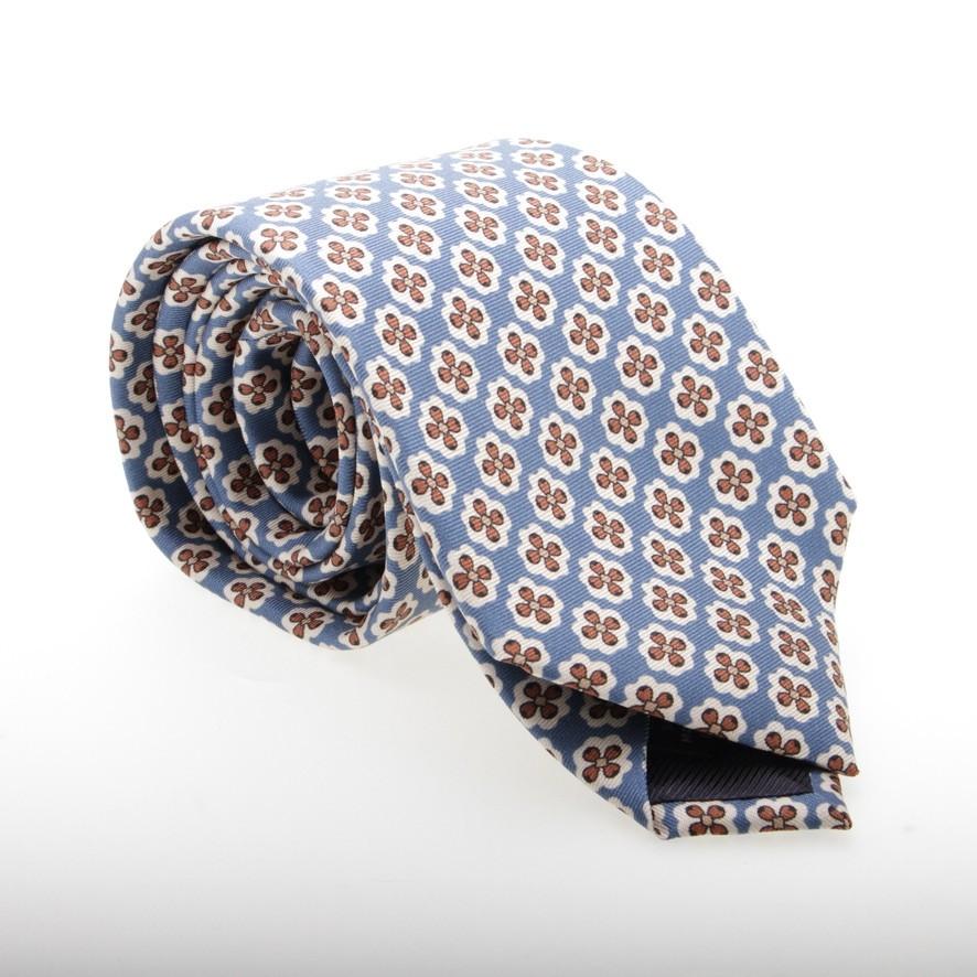 Cravate Fleurie