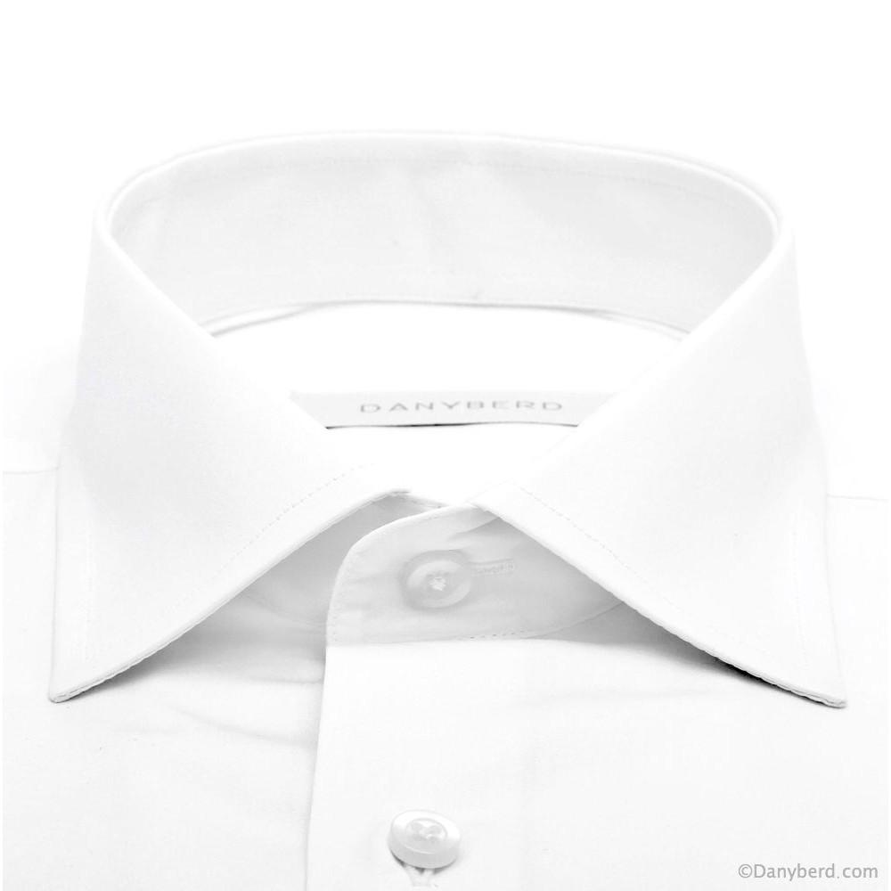 Chemise Planet blanche poche poitrine