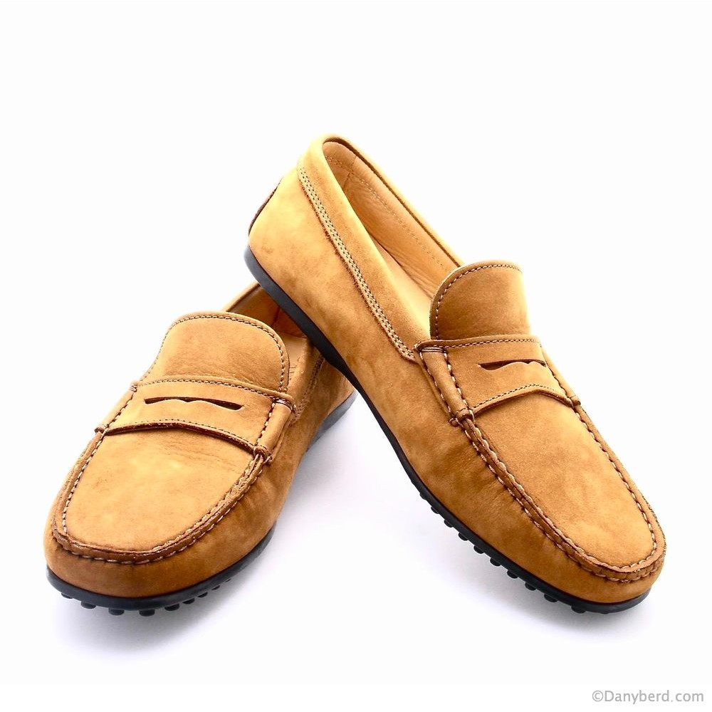 Mocassins Cognac - Nubuck (Shoes)