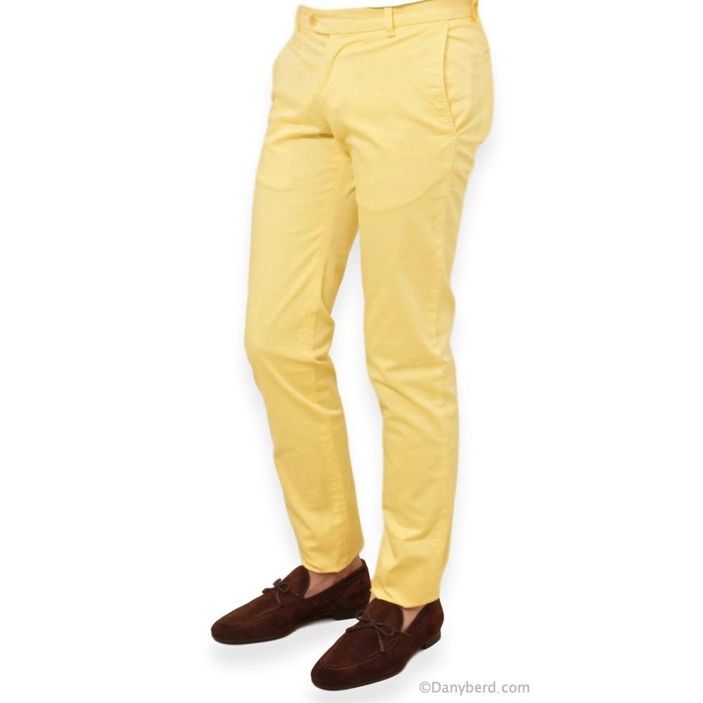 Chino - Jaune - Toile Mi-Saison (pantalon)
