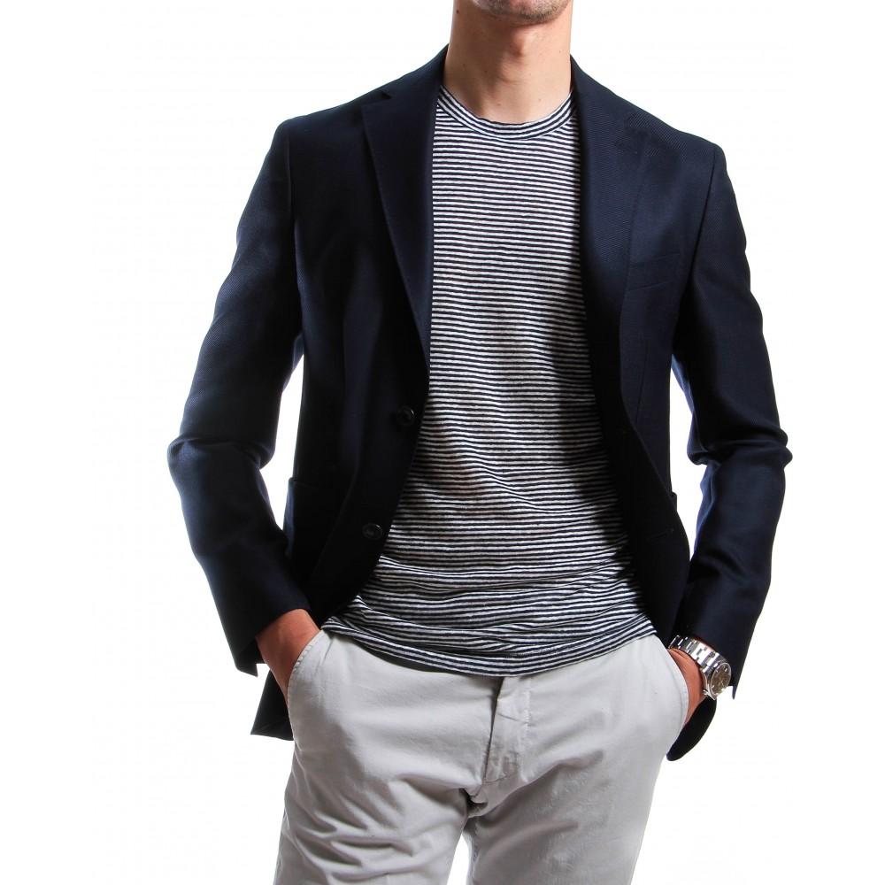 Tee-shirt marinière : Col rond - Coton (Tee-shirt)