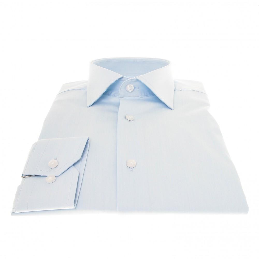 Chemise Roomy : Ciel - Col français (chemise)