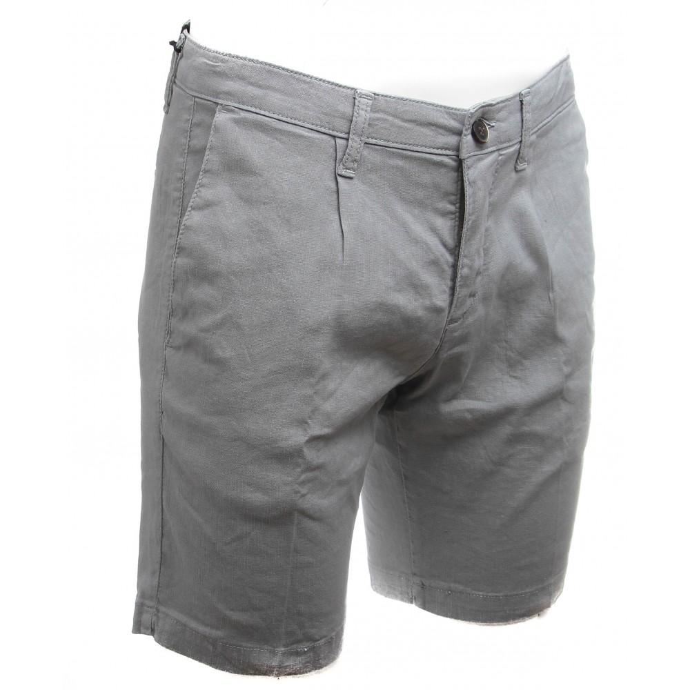Short gris - Toile Summer (Bermudas)