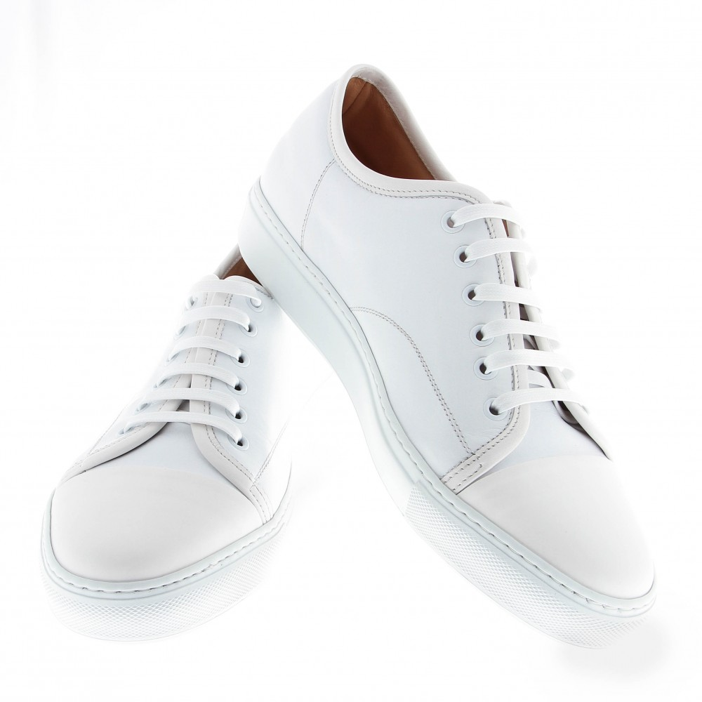 Sneakers Paris : blanc - cuir (Shoes)