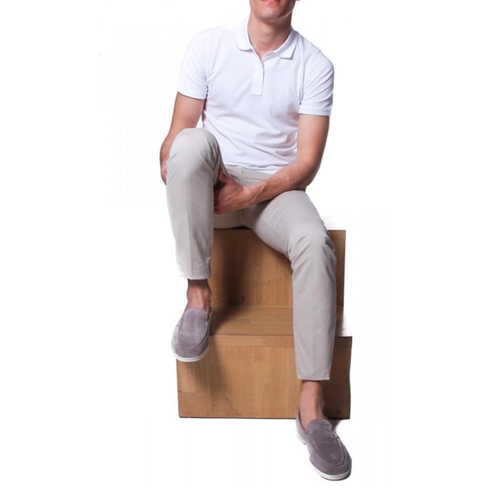 Polo Coton Blanc homme