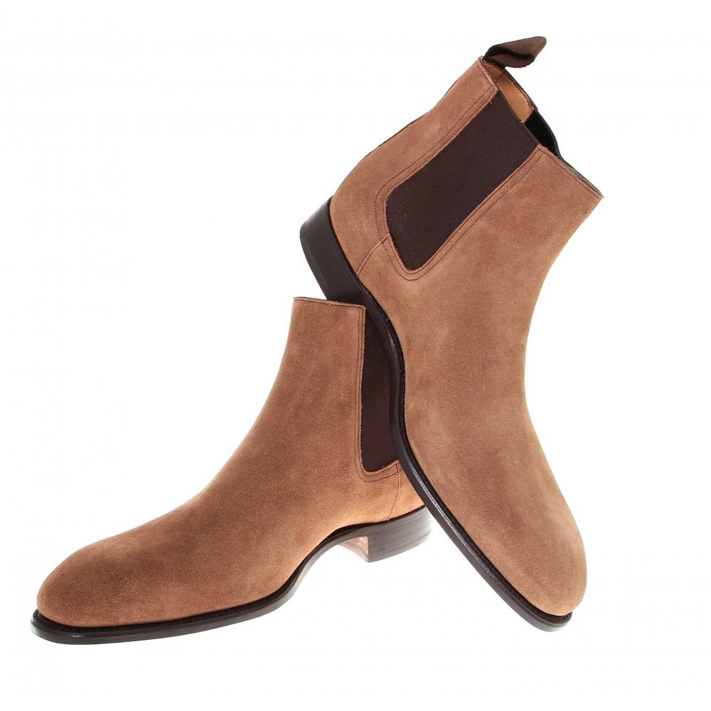 Boots chelsea nubuck noisette Goodyear