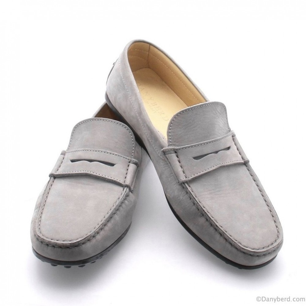 Mocassins Gris - Nubuck (Shoes)