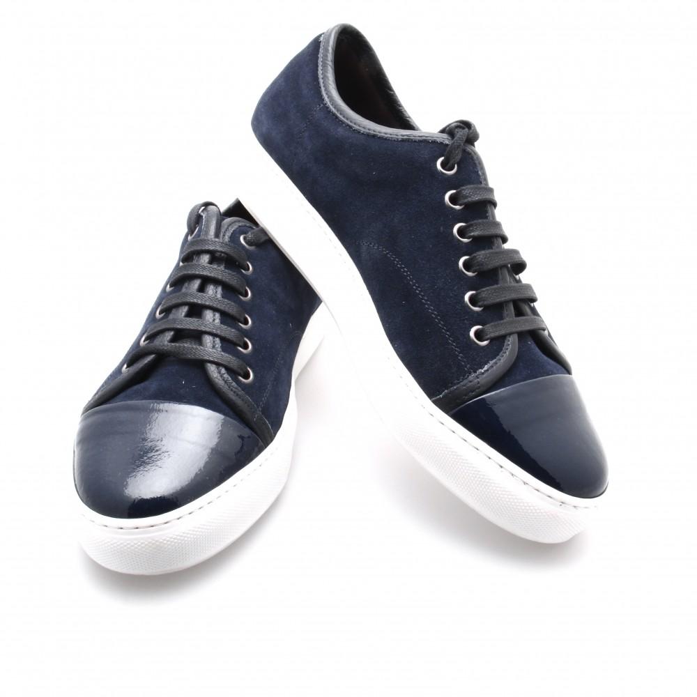 Sneakers Paris : Marine - Veau Velours (Shoes)