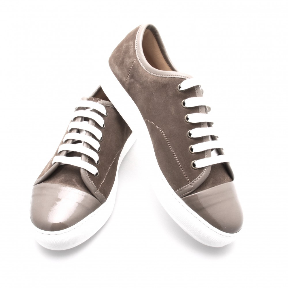 Sneakers Paris : Noisette - Veau Velours (Shoes)