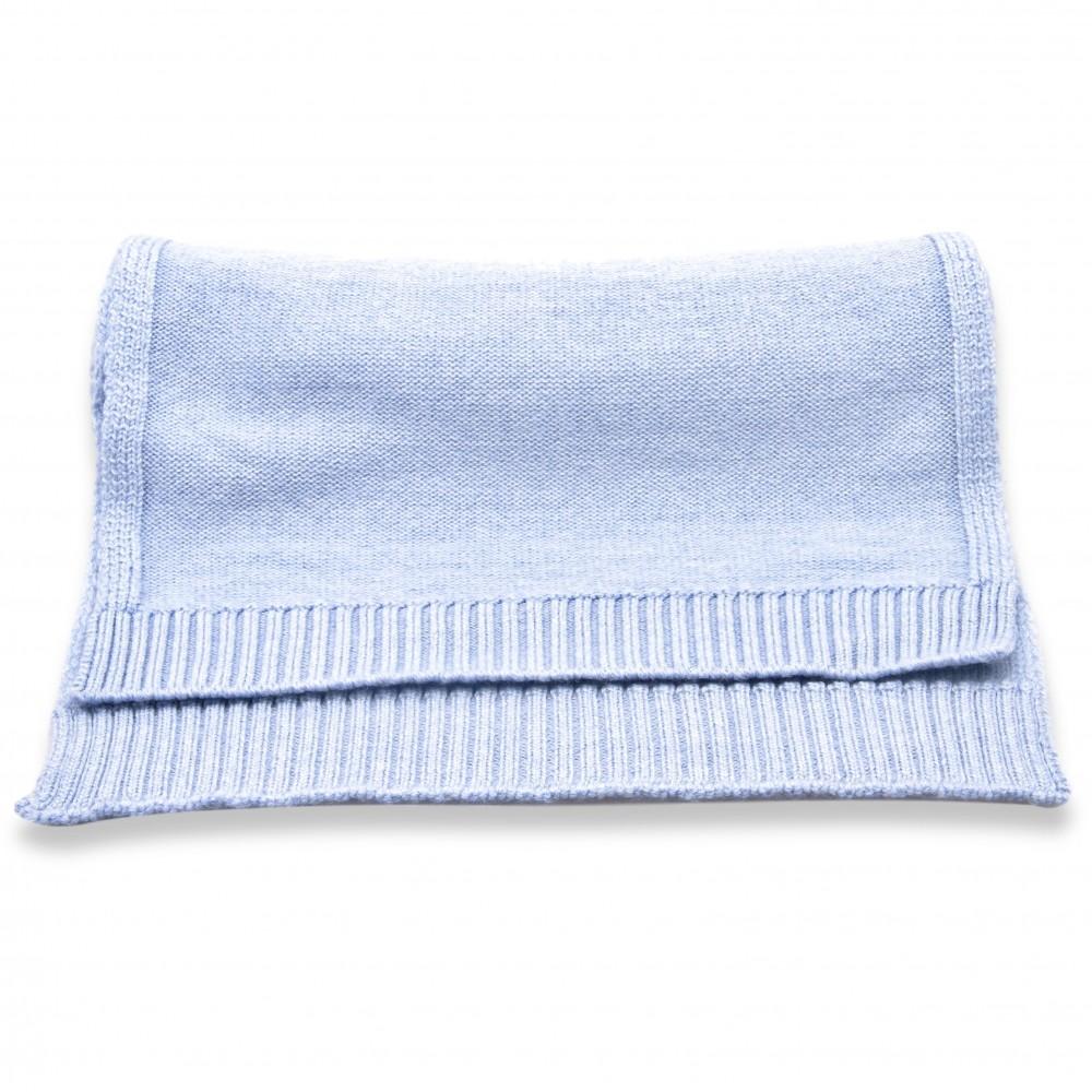 Echarpe ciel - Pure laine de Merinos (Écharpes)