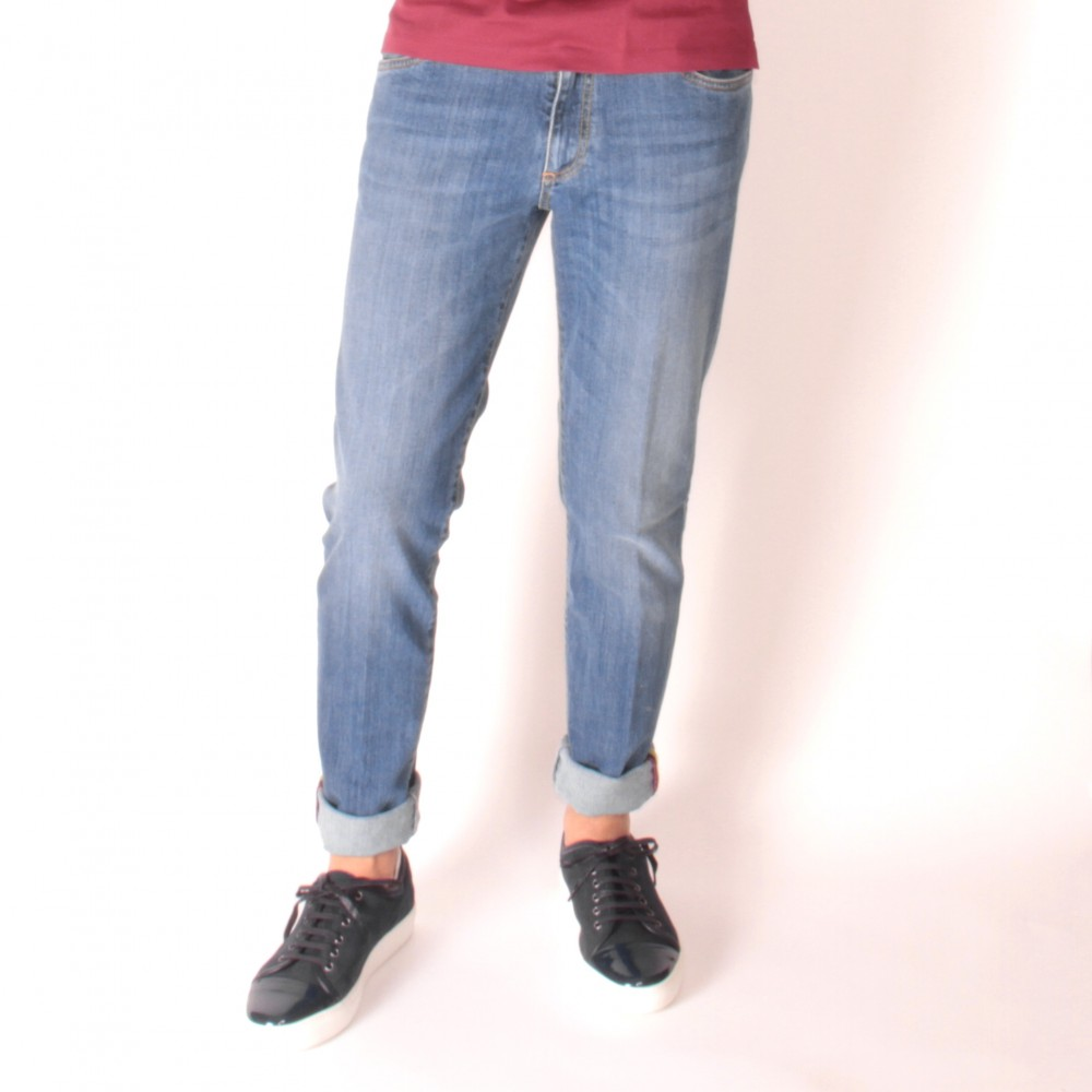 Jean Italie : Foncé (pantalon)