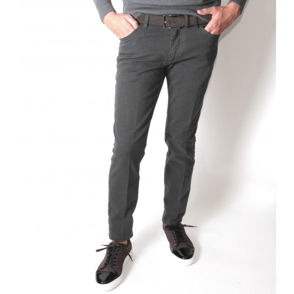Jean Italie : gris foncé (Pantalons)