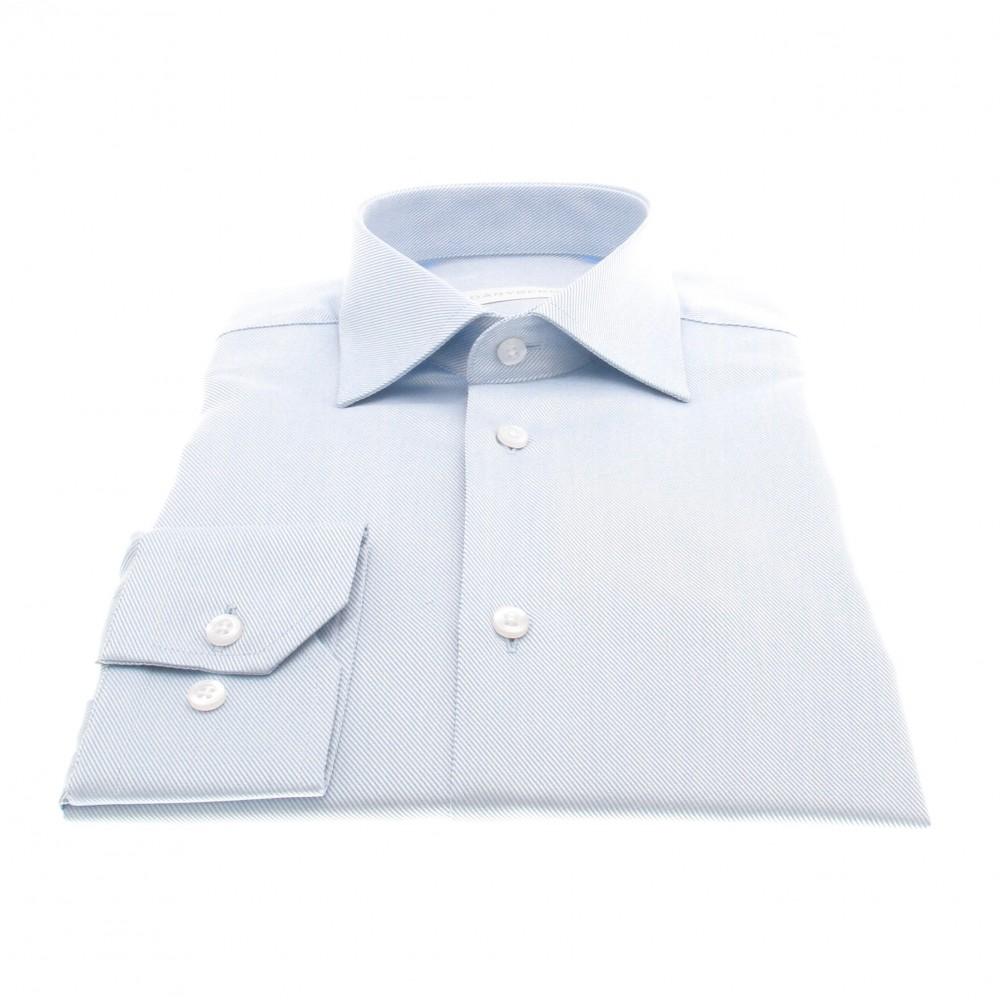 Chemise Reims : Bleu ciel - Col Français (chemise)