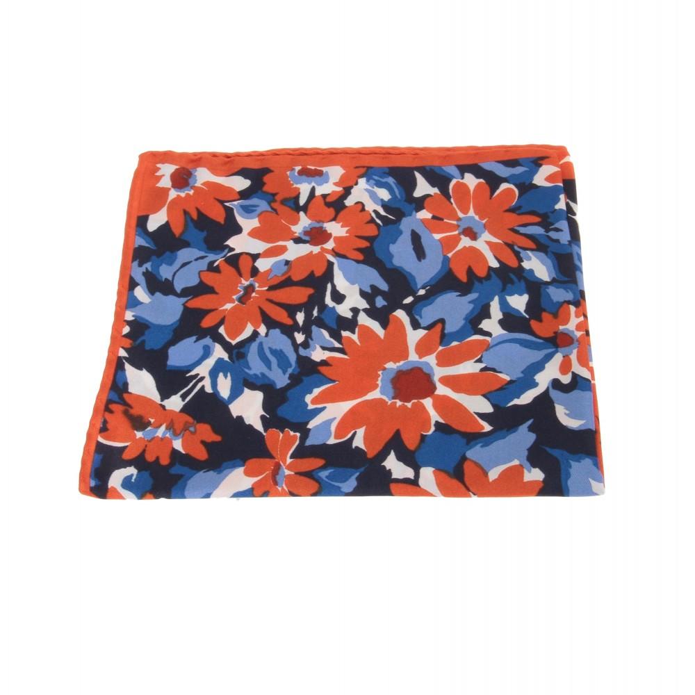 Pochette : Motifs oranges et bleus (Pochettes)