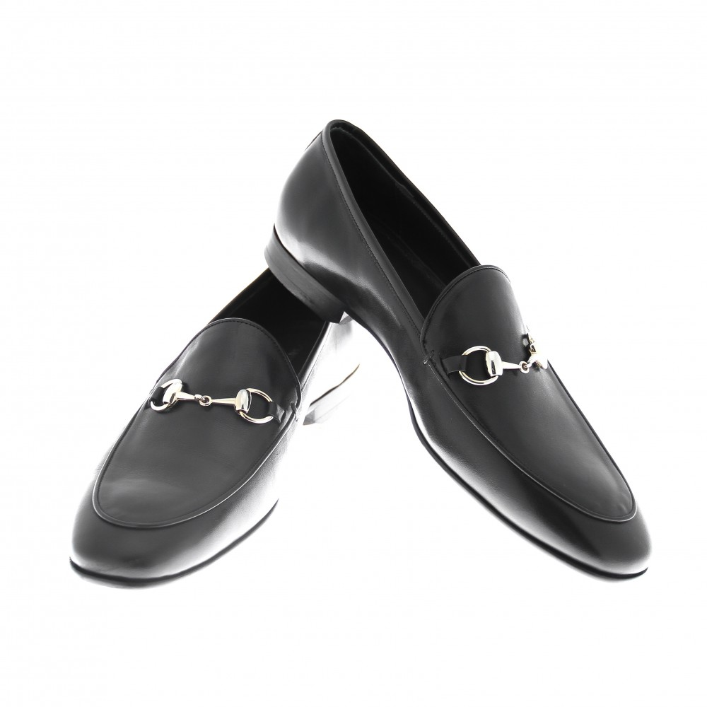 Mocassins Noirs - Cuir - Made in Italy
