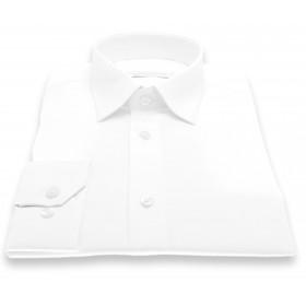 Chemise Roomy : Blanc - Petit col français