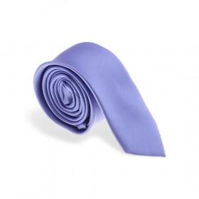 Cravate en soie :  bleue