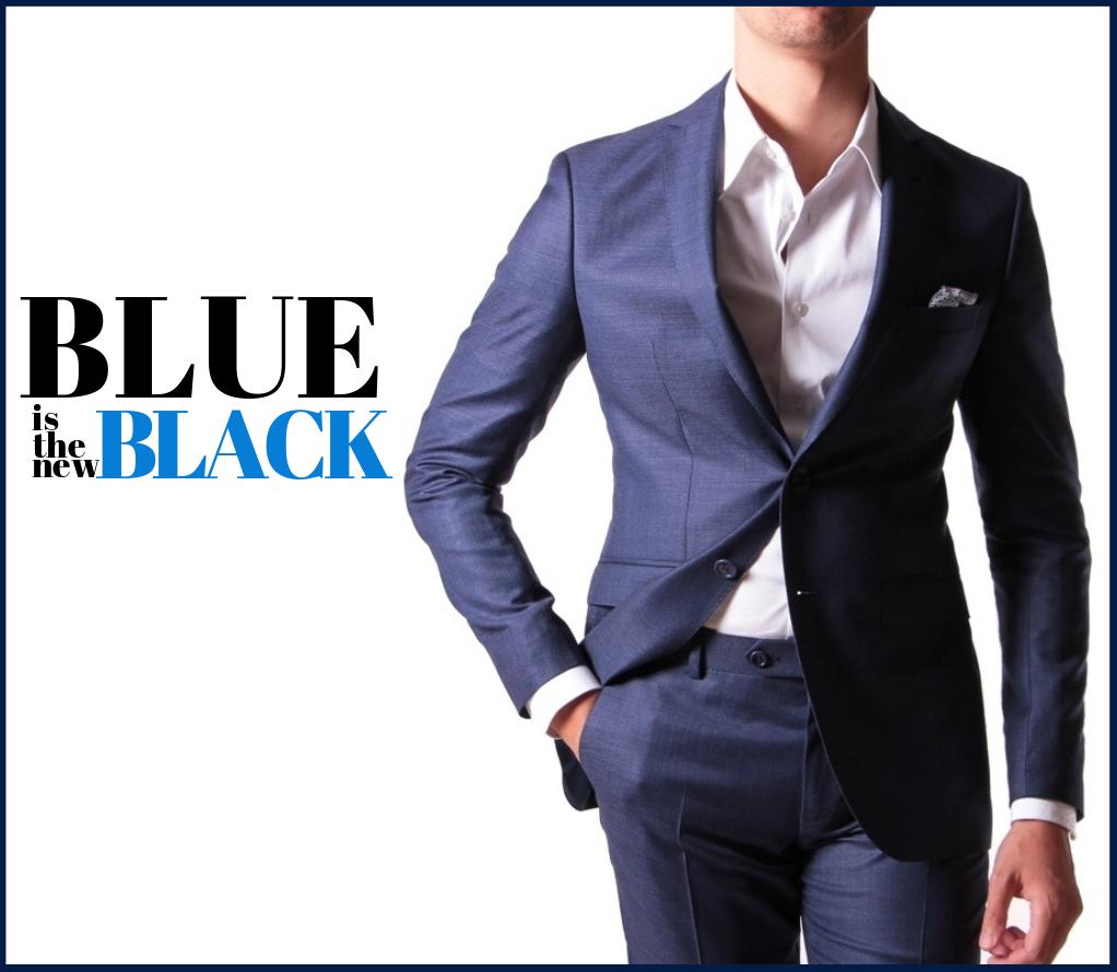 Costume Reda bleu super 110's